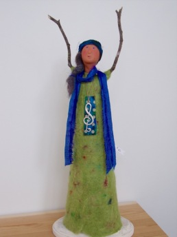 Ann Rehbein shares her mixed media Annabelle Art Dolls.