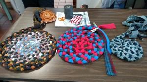 Nancy Barb & Linda's braised rugs.