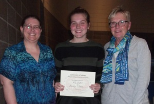 Angela M., Hailey Vosen, Donna R.