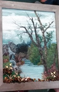 Kay W's Landscape Quilted Picture