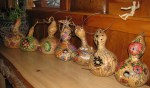 Rhonda's Decorated Gourds