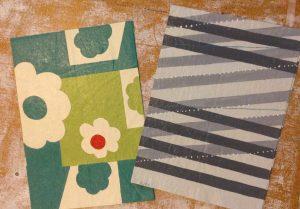 Kristine Kjos' Floor Cloth Painting
